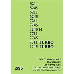 Zetor Z 5211 - Z 7745 Turbo