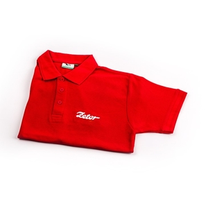 Damen-Polohemd, rot