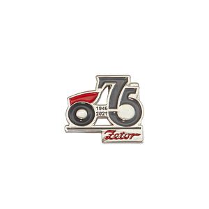 Odznak s logem 75. výročí