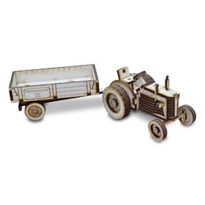 Traktor Z 25, mit Anhänger, Fertigmodell