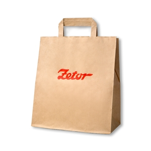 Papírová taška Zetor.